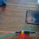Arduino con sensore rileva pioggia e neve