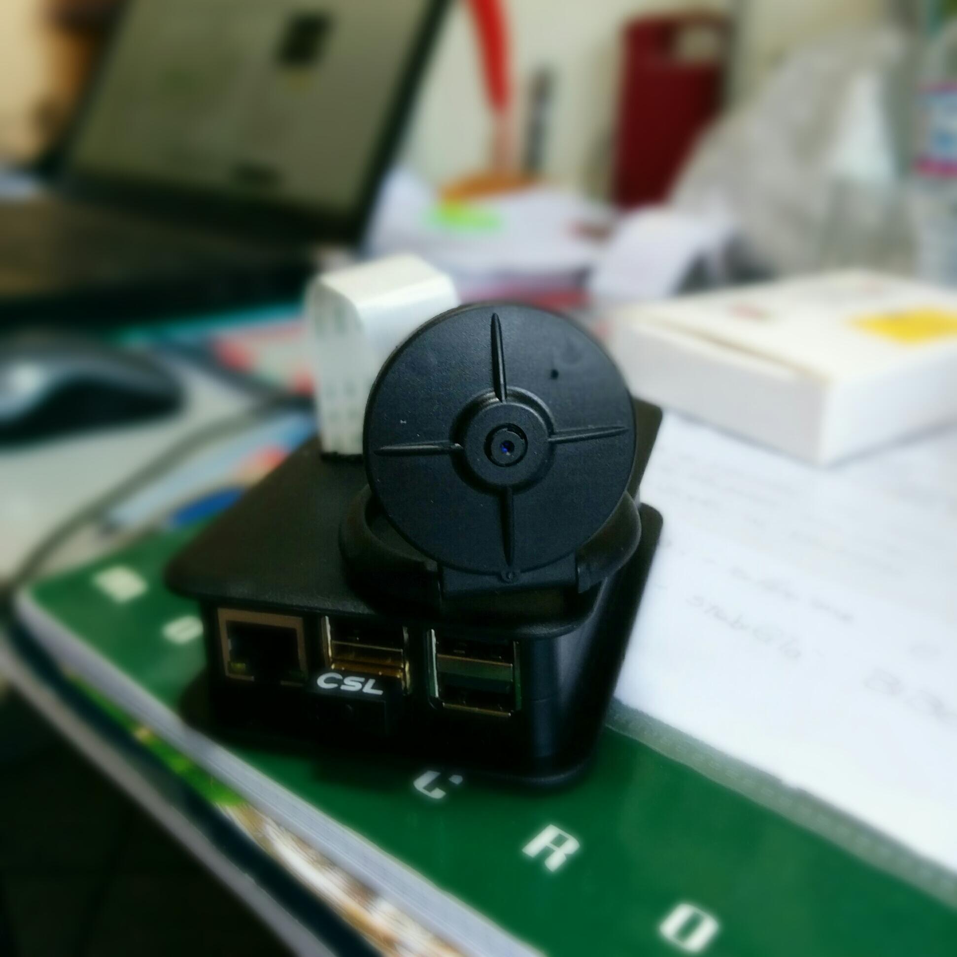 Contenitore Raspberry Pi camera