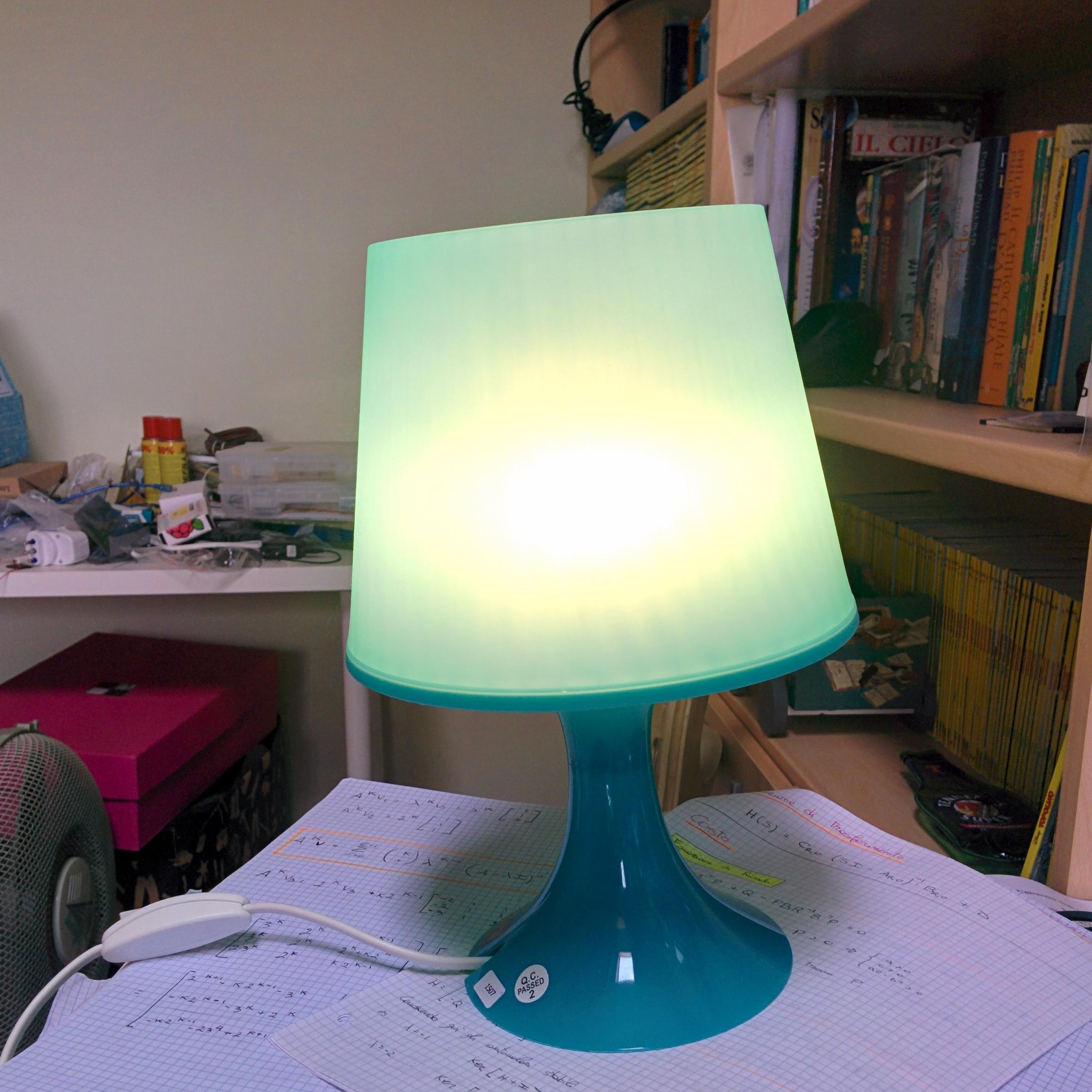 Accensione Lampadario Con Telecomando automatizzare l'accensione di una lampada usando arduino