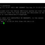 Controllare da remoto Raspberry Pi usando SSH